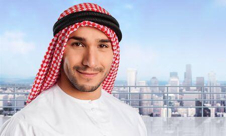 agal: Man, saudi, arab. Stock Photo