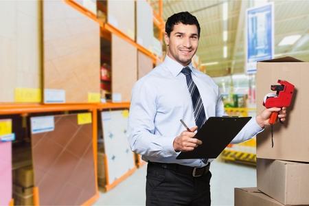 loading bay: Retail, portrait, clipboard.