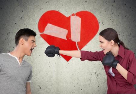 animosity: Arguing, Shouting, Couple.