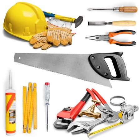 work tool: Tape Measure, Measuring, Work Tool. Stock Photo