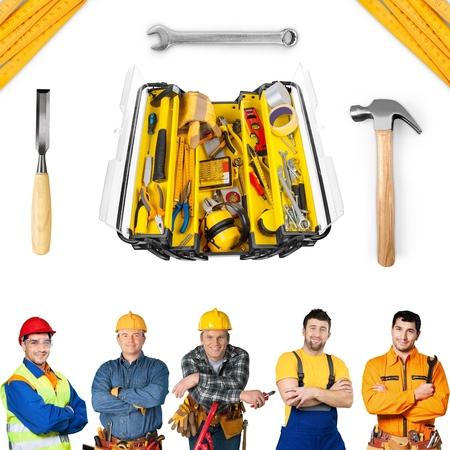 contractors: Electrician, plumber, contractor.