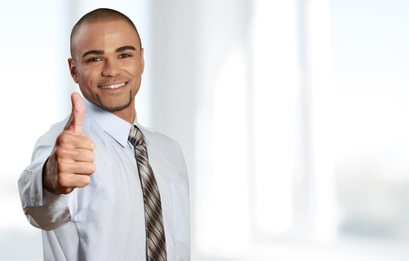 thumbs up business: Thumbs Up, Business, Occupation. Stock Photo