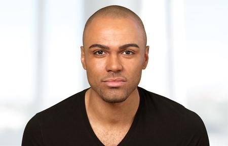 latin american ethnicity: Men, Latin American and Hispanic Ethnicity, Human Face. Stock Photo