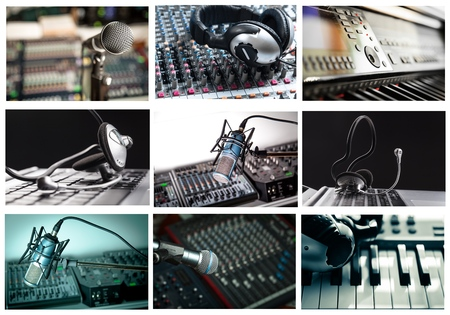 Radio, Recording Studio, Studio. Stock Photo - 42303011