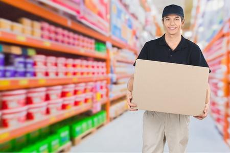cardboard only: Delivering, Mover, Messenger.