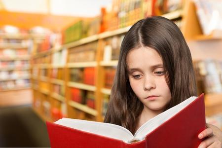 pretty hair: Child, Reading, Book.