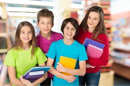 schoolchild: School, kind, vakantie.