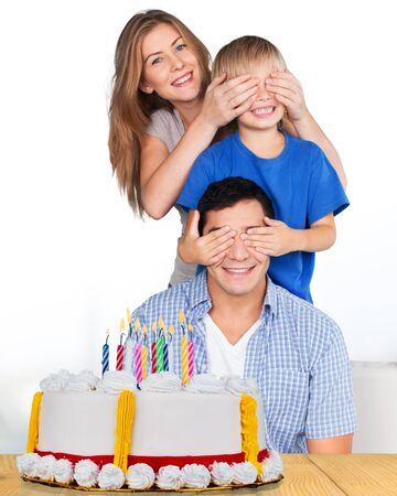 torta de cumpleaños: Torta de cumpleaños, pastel, cumpleaños.