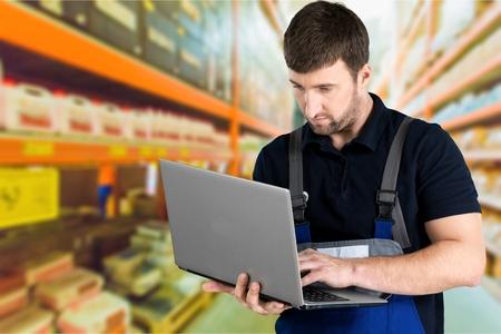 auto repair: Mechanic, Auto Repair Shop, Computer.
