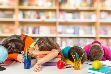 school children: School, kids, students.