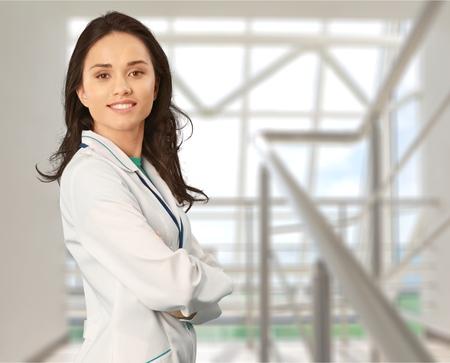 bata de laboratorio: Bata de Laboratorio, Mujeres, doctor.