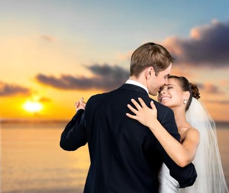 Wedding, Dancing, Bride. Stock Photo
