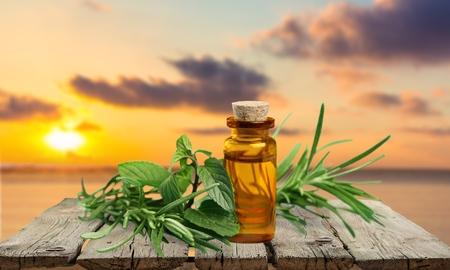 Oil, herbal, flower.