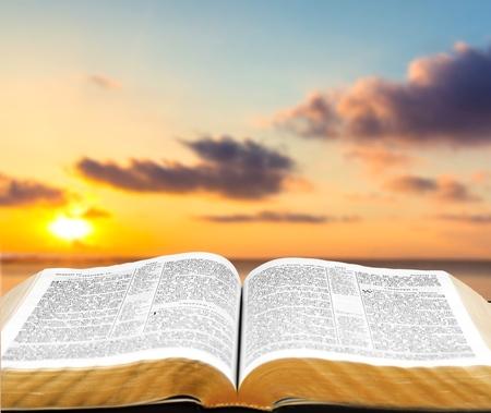 Bible, Open, Gospel.