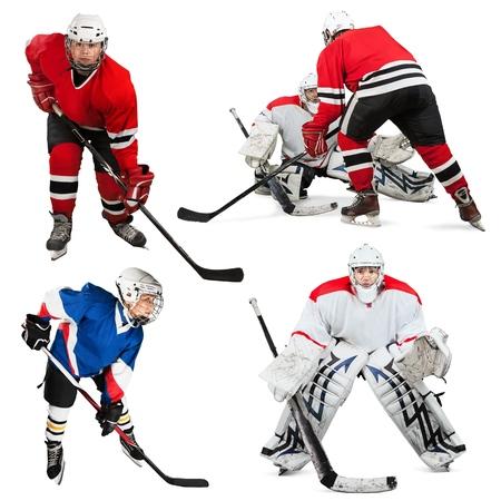 organized group: Ice Hockey, Ice, Ice-skating.