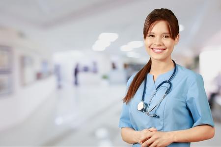 enfermera con cofia: Médico, Oriental, Enfermera.