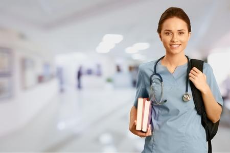 Enfermera, Estudiante, Educación. Foto de archivo - 42305106