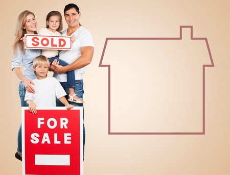 residential structure: House, Sold, Residential Structure. Stock Photo