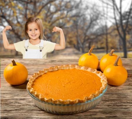 pumpkin pie: Pumpkin Pie, Pie, Pumpkin. Stock Photo