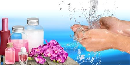 lavage mains: Main humaine, Se laver les mains, laver.
