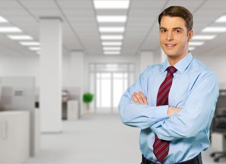 administrador de empresas: Tecnología, Soporte de TI, Servidor de red. Foto de archivo
