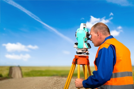 land surveying: Surveyor, Land, Construction.
