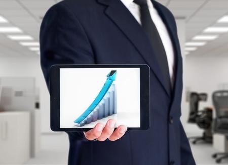 winning stock: Business, Finance, Sales Occupation. Stock Photo