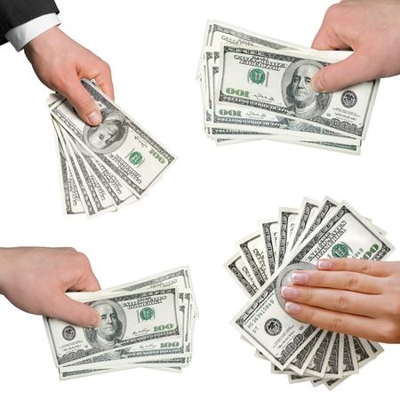 salarios: Moneda, Riqueza, Billete de banco. Foto de archivo