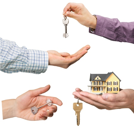 hand holding house: Real Estate, Real Estate Agent, House.
