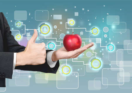 healthy lifestyle: Business, Healthy Lifestyle, Apple.