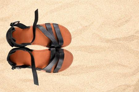 sandalia: Sandalia, Zapatos, Aislados.
