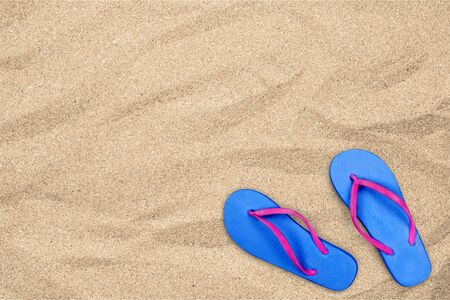 flipflop: Flip-flop, Sandal, Isolated.