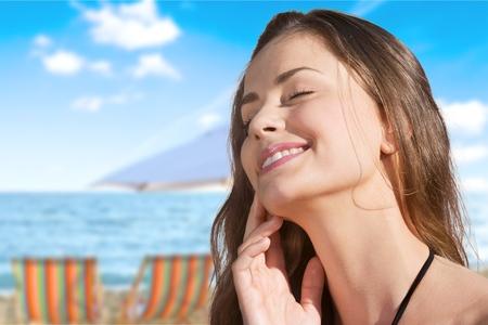 Sunscreen, sun, protection.