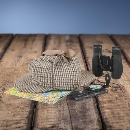orienteering: Travel, Compass, Binoculars.