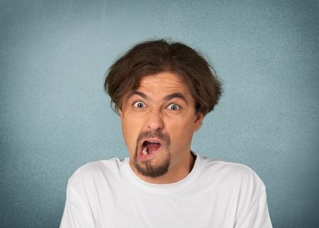facial   expression: Facial Expression, Human Face, Men.