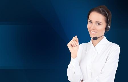 operator: Call Center, Operator, Women.