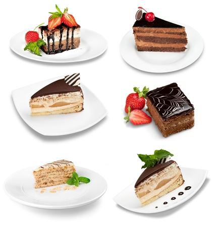 cake slice: Cake, dessert, slice.