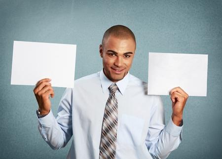 publicize: Holding, Sign, Men.