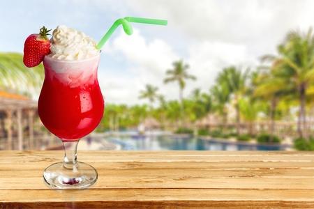 daiquiri: Cocktail, Daiquiri, Strawberry.