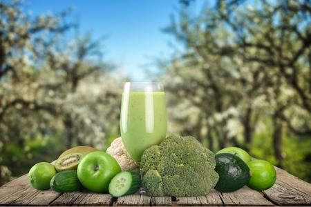 saludable: Jugo, Estilo de vida saludable, verde.