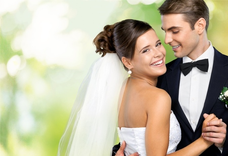 Wedding, dance, together. Stock Photo