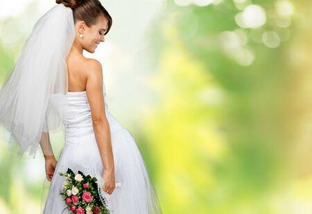 Braut, Hochzeit, Mode.
