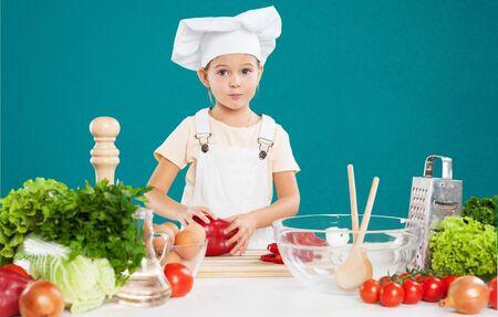 niños cocinando: Cocina, niño, chef.