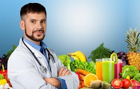 charisma: Doctor, physician, surgeon. Stock Photo