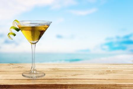 Cosmopolitan, Martini, Cocktail. Stock Photo
