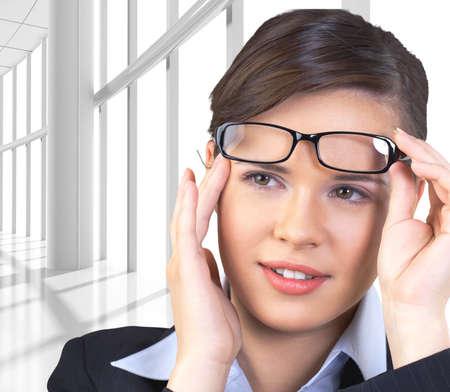 sensuality: Glasses, Sensuality, Women.