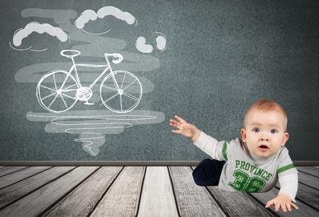 bebe gateando: Beb�, Gatear, S�lo beb�s.