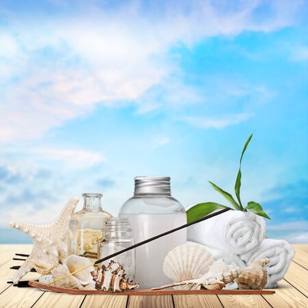 grooming product: Aromatherapy, Incense, Spa Treatment. Stock Photo