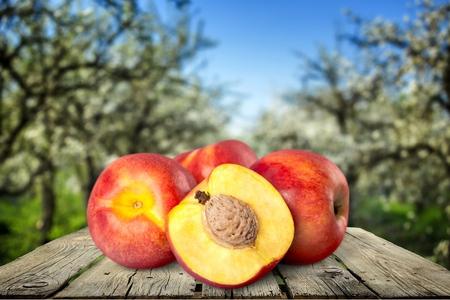 peach: Peach, Nectarine, Fruit.