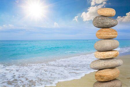 Stone, Pebble, Stability.